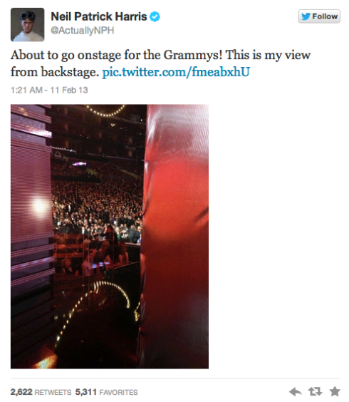 Grammy Tweet 3